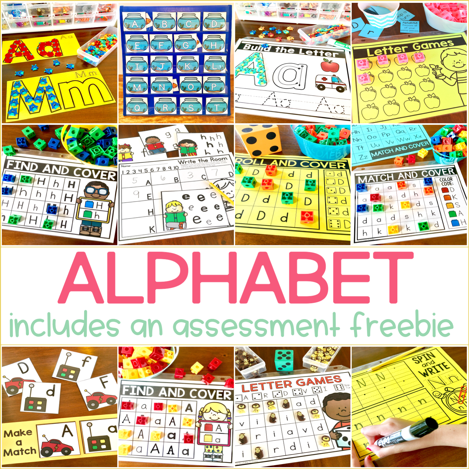 Letter Recognition And Alphabet Activities For
