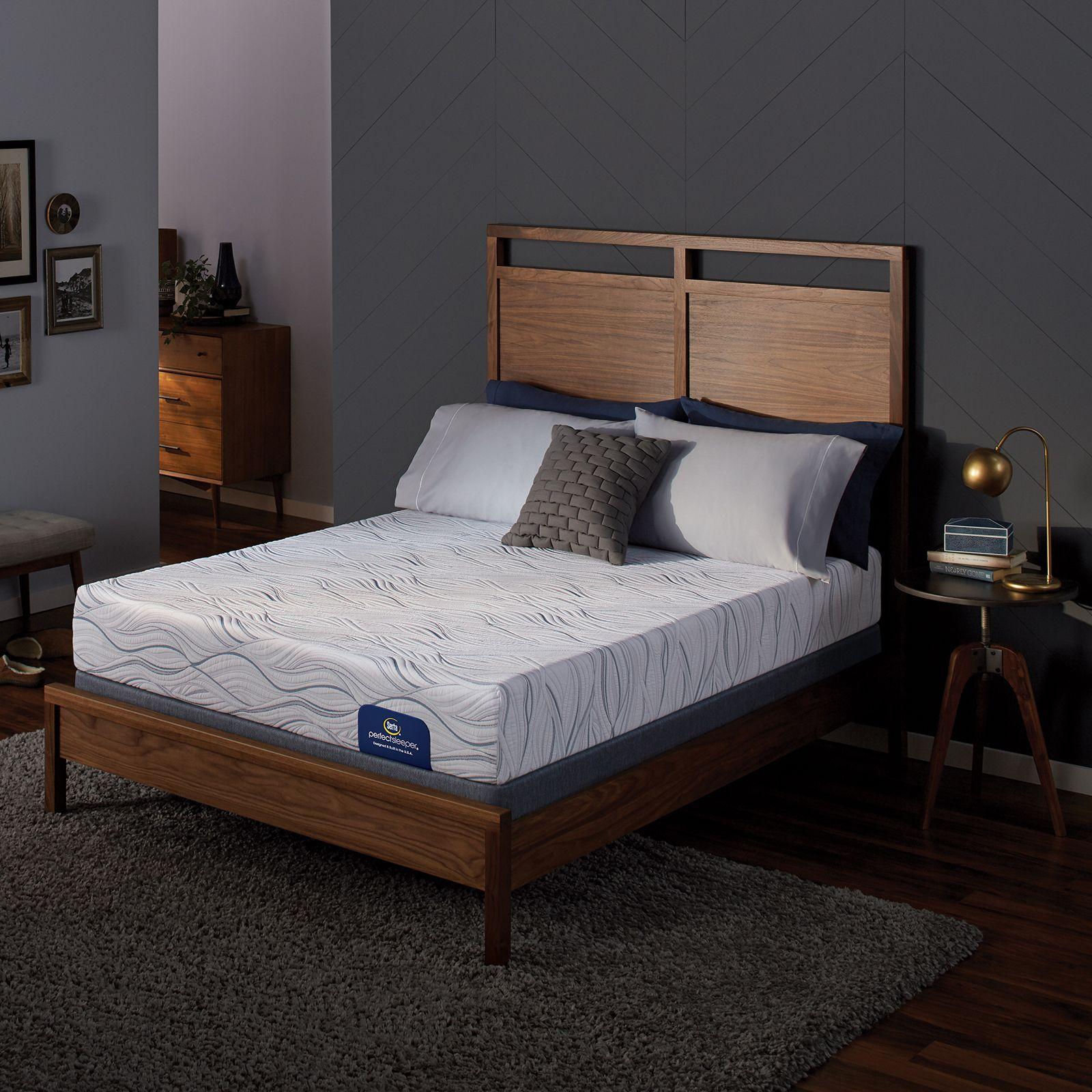 Serta Perfect Sleeper Gants Hill Luxury Firm King Memory Foam ...