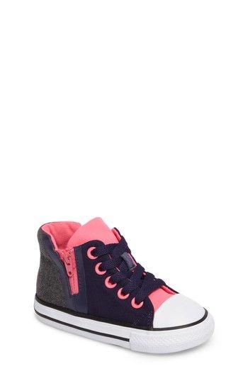 3991b51a6ea1 Converse Chuck Taylor® All Star® Sport Zip High Top Sneaker (Baby ...