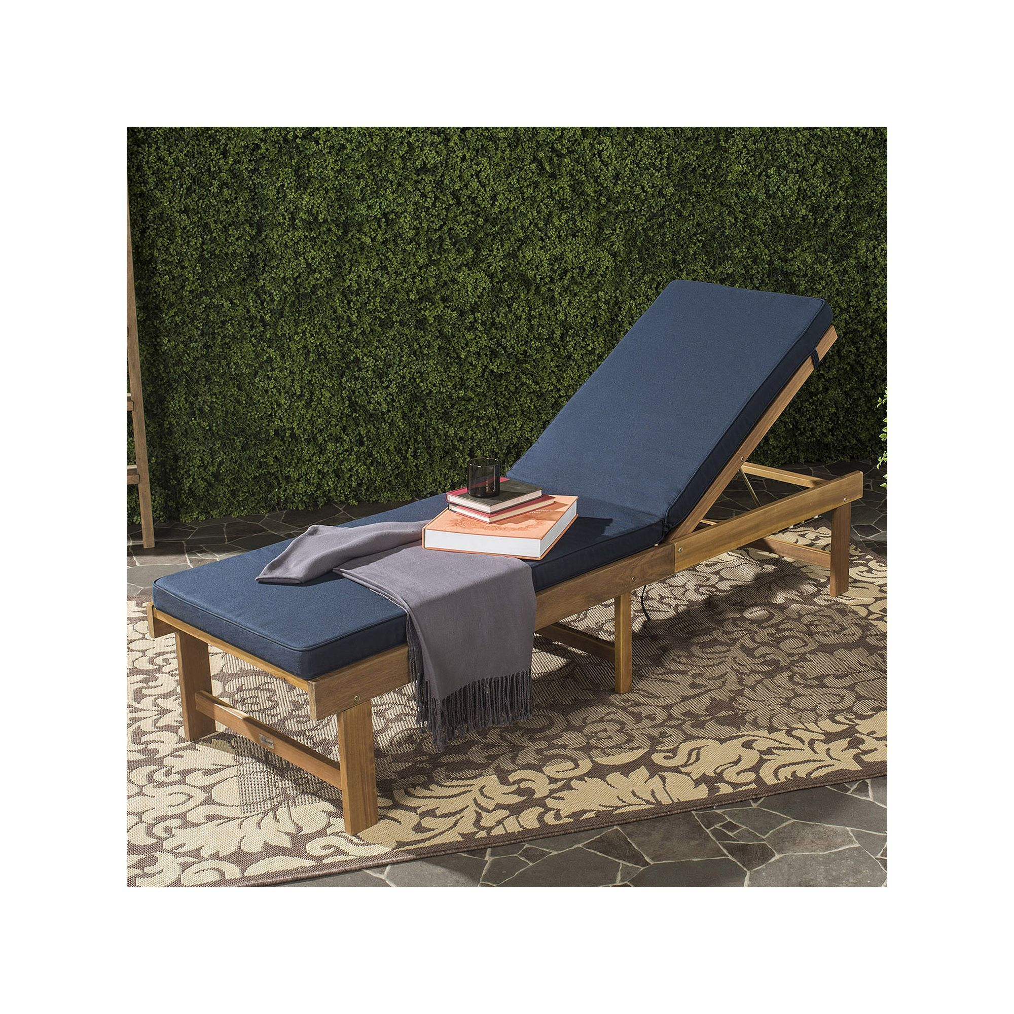 Safavieh Outdoor Inglewood Patio Lounge Chair