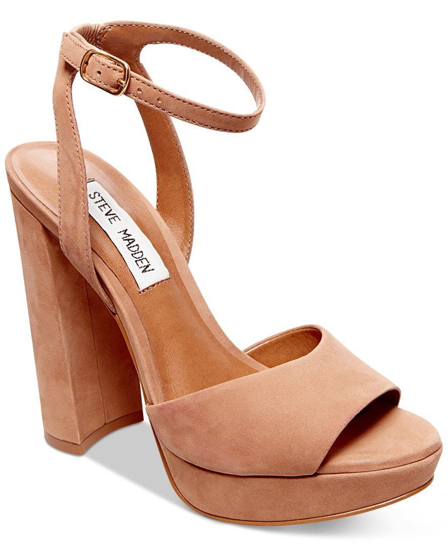 f2439a30411 Steve Madden Women s Britt Platform Sandals