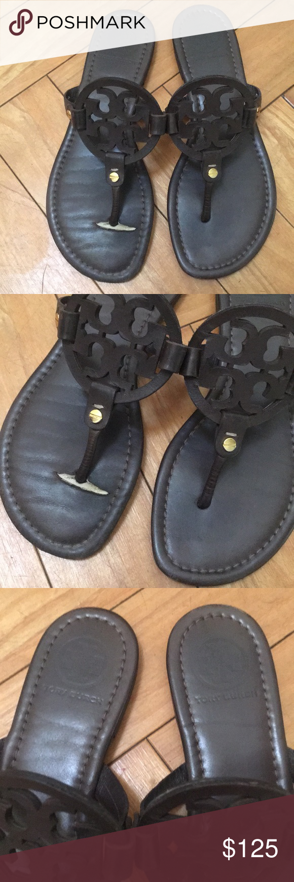 85bda3d29 Tory Burch Chocolate Brown Miller Sandals size 7 Tory Burch Miller s in a  size 7 M