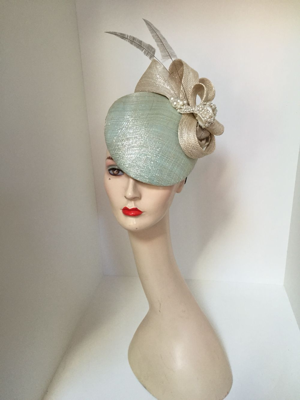 7c6108e84c8 Marc Millinery. Marc Millinery Fascinator Diy