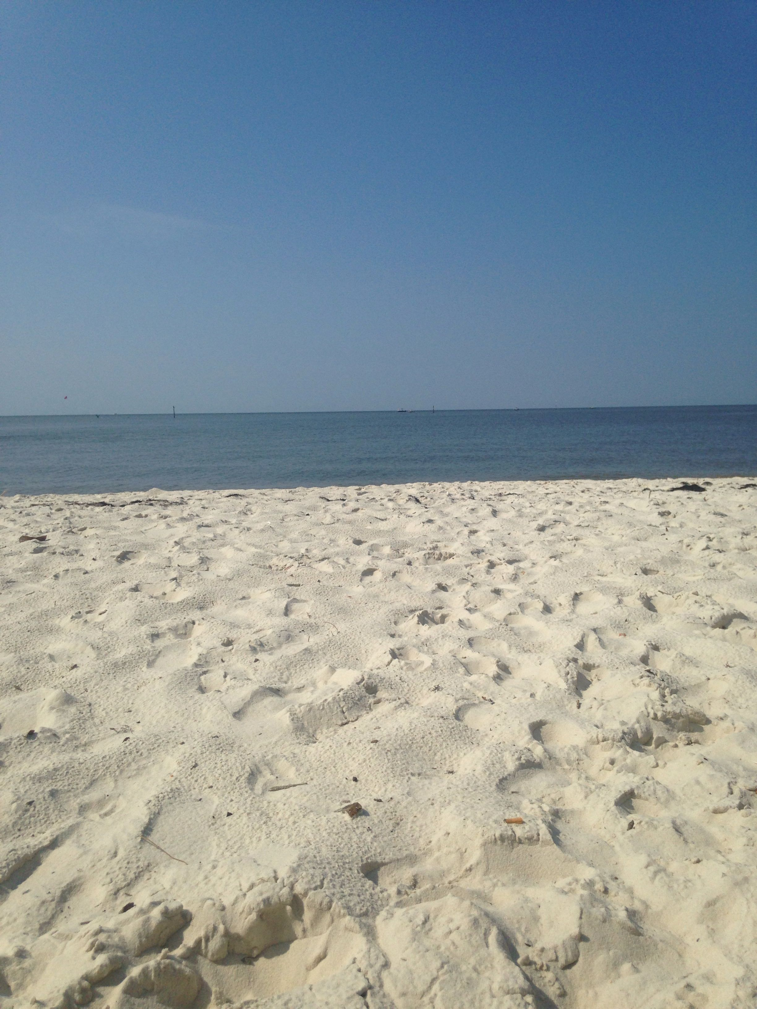 Biloxi Ms Beautiful View With Calm Lapping Waves But The Water Is