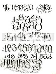 Big Sleeps Tattoo Letterings Alphabet Fonts