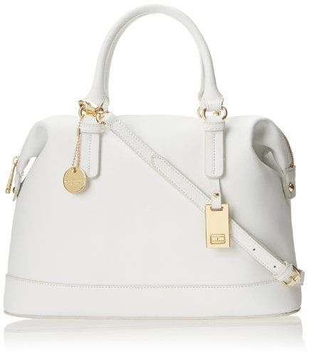 Tommy Hilfiger 6920858 Heritage Flag Tag Saffiano Bowler Top Handle Bag,White,One Size Tommy Hilfiger,http://www.amazon.com/dp/B00HR14Y1Q/ref=cm_sw_r_pi_dp_Yxbztb0SDF3QDCA1