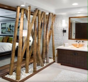 s parer une pi ce avec un claustra d 39 int rieur studio apartment african interior design diy. Black Bedroom Furniture Sets. Home Design Ideas