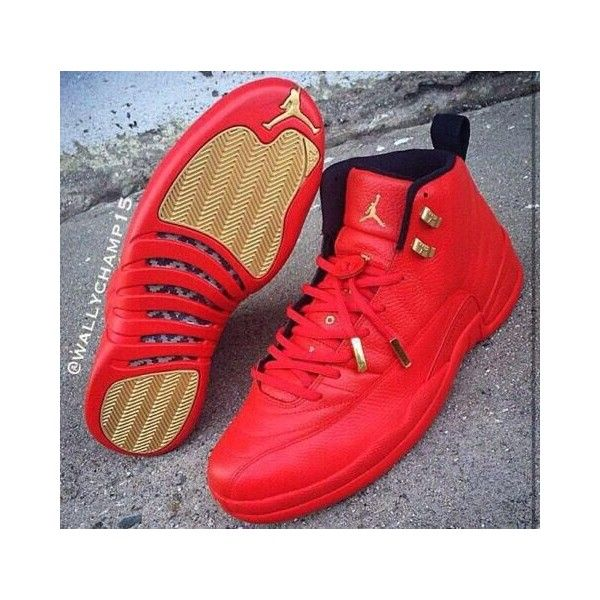 "reputable site 4bccf 82b3b Air Jordan 12 ""Red October"" Custom By @Wallychamp15 ❤ liked ..."