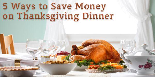 5 Ways to Save Money on Thanksgiving Dinner - BillCutterz.com Money Saving Blog #thanksgiving #food #holidays