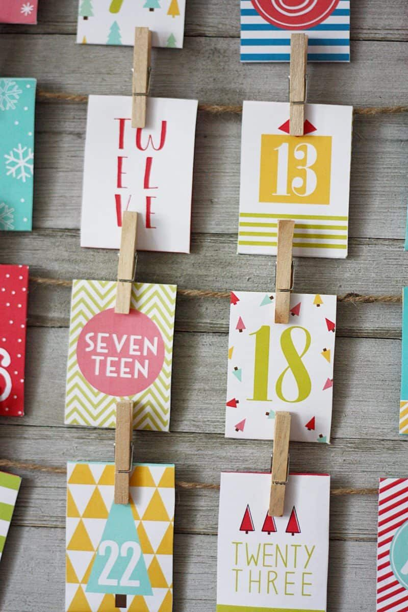 FREE Printable Advent Calendar with loads of fun activities!   Skip To My Lou