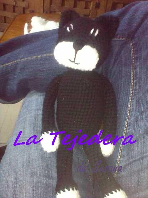 Gato  Negro amigurumi  #gatito #cat #amigurumi