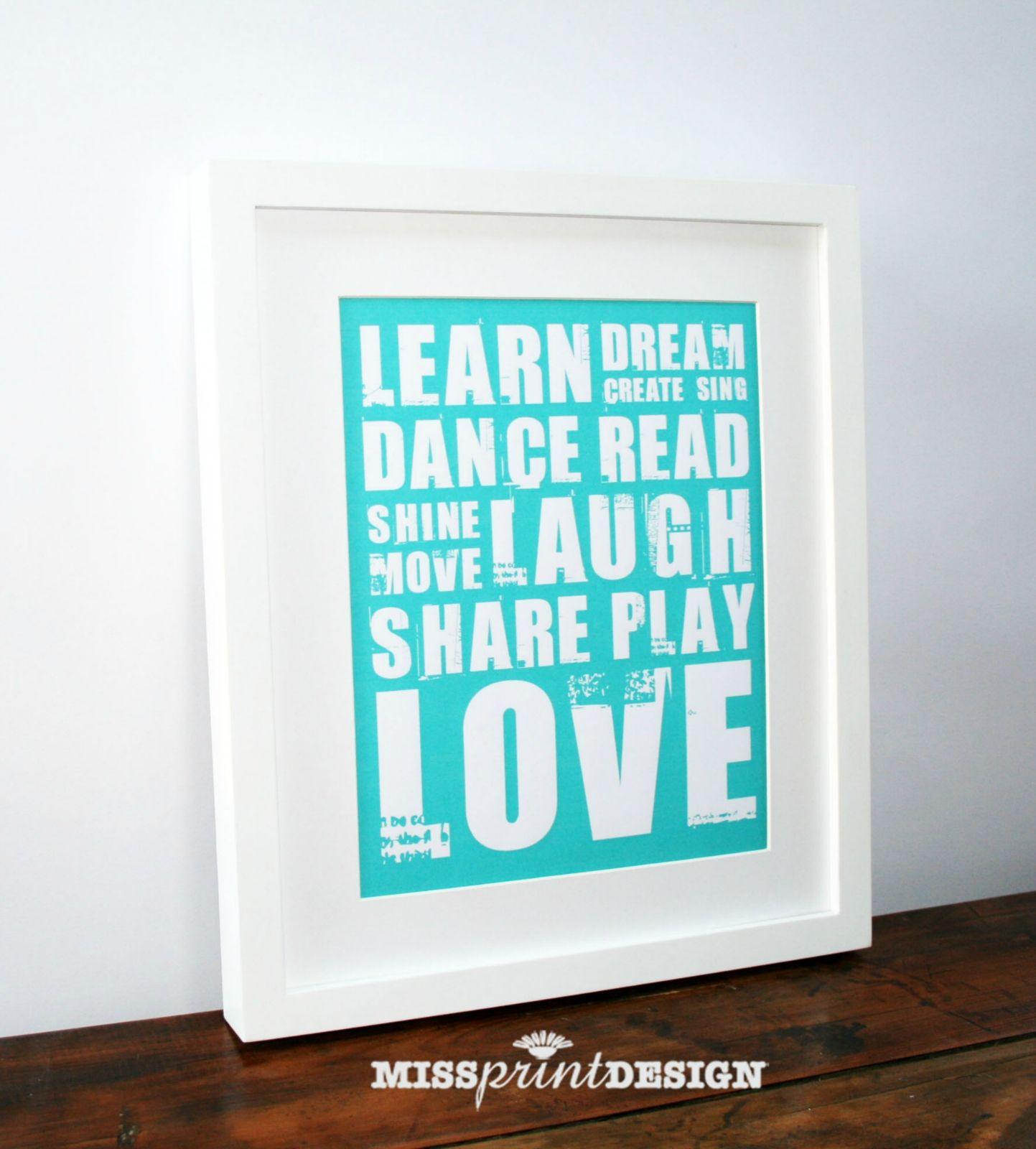 Typography art prints baby nursery wall art personalized baby typography art prints baby nursery wall art personalized baby negle Choice Image