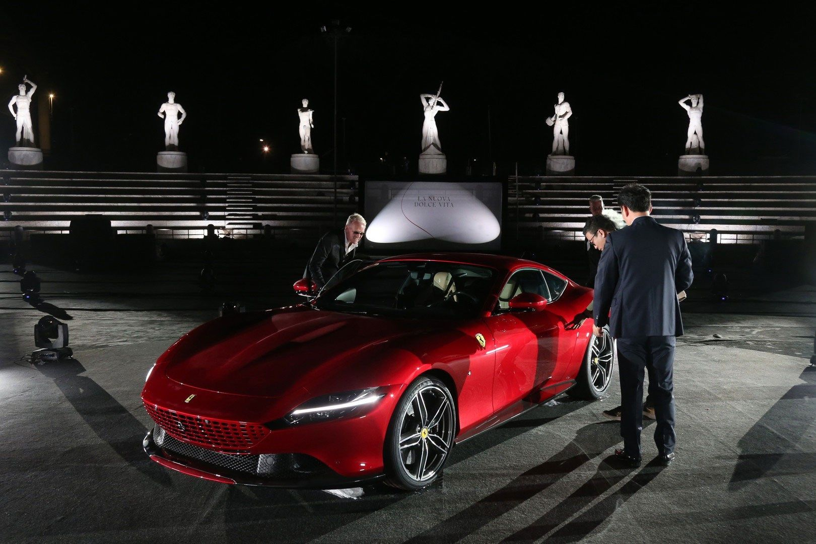 New From Maranello The Ferrari Roma Is A New 2 Coupe Powered By