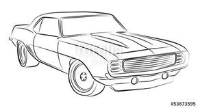 Image result for cartoon draw classic cars
