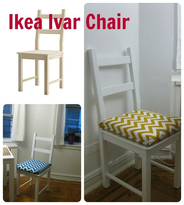 ikea ivar chair makeover home pinterest ikea mobilier de salon et maison. Black Bedroom Furniture Sets. Home Design Ideas