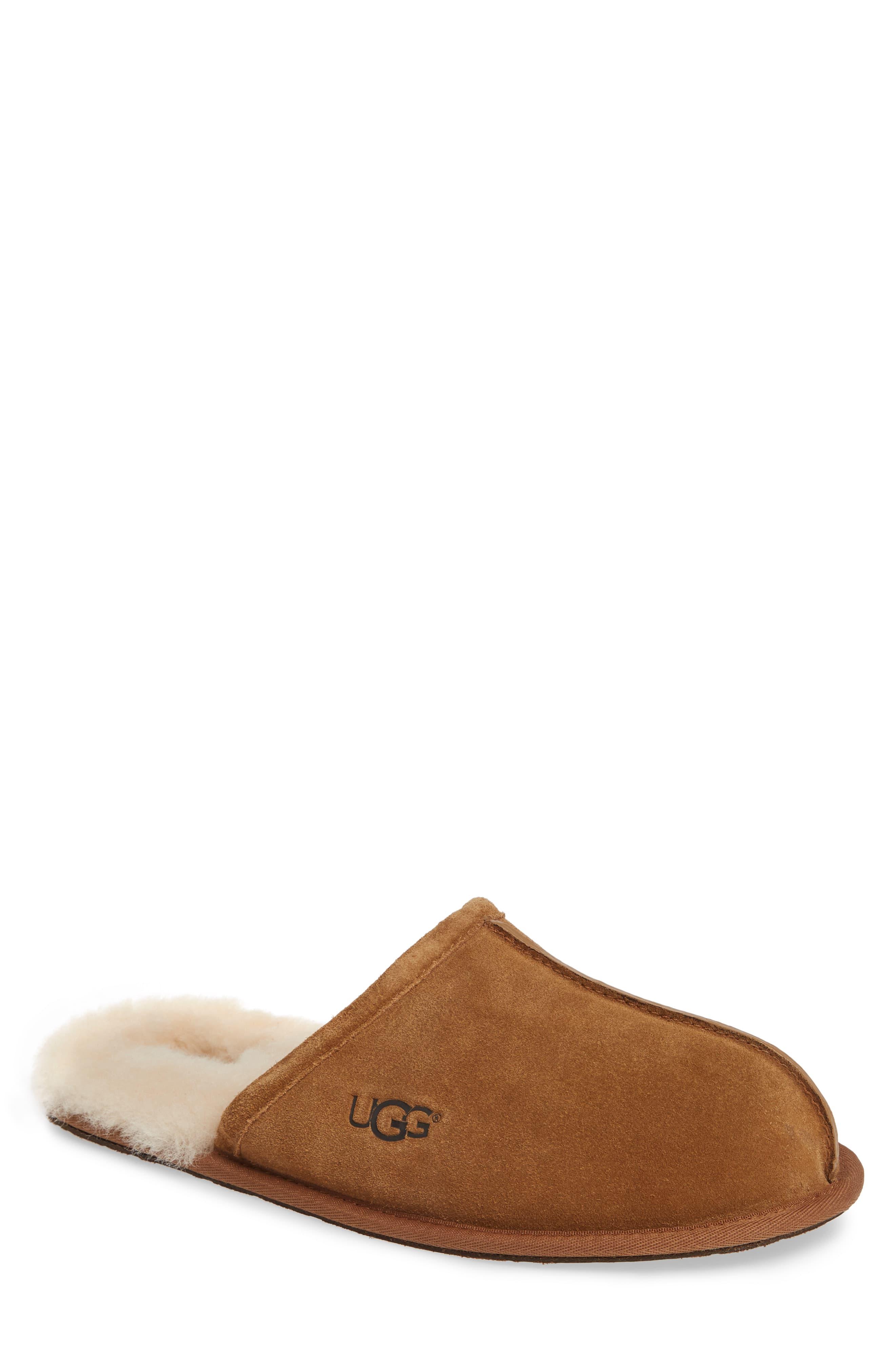 4e831928ef4 Men's Ugg Scuff Slipper, Size 16 M - Black in 2019 | Products | Mens ...