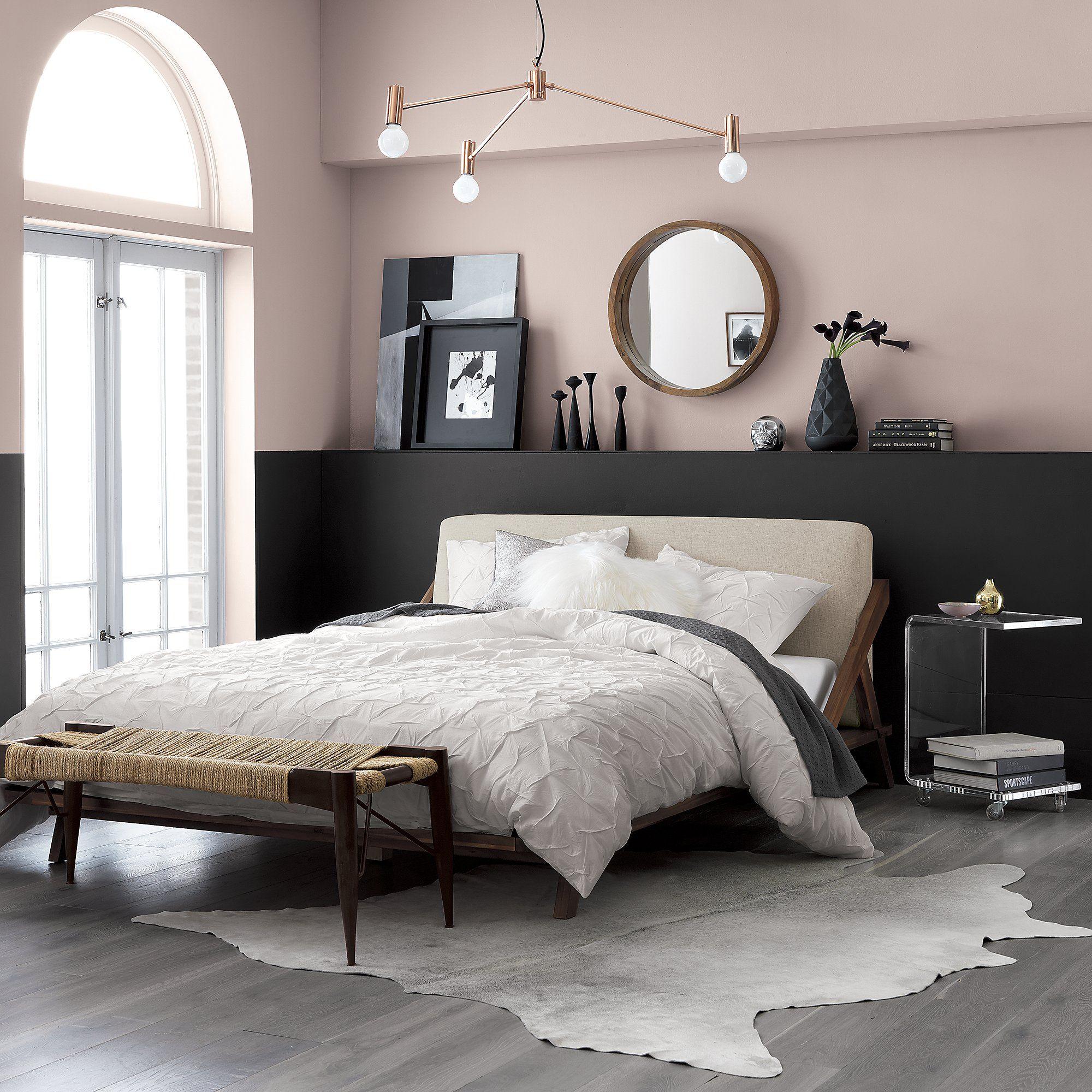 Light Cowhide Rug 5 X8 Reviews Cb2 Bedroom Interior Bedroom Design Home Decor Bedroom