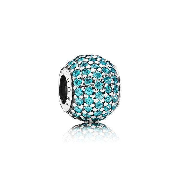 Charm Pav U00e9 Turquoise Pandora Pandora  U00e9t U00e9 2014