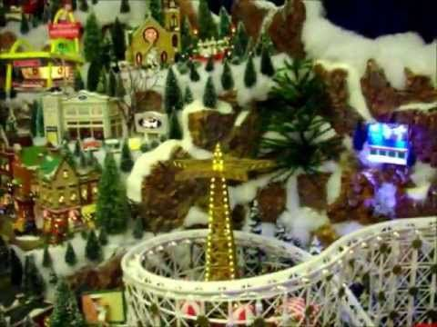 Amazing village display Lemax Christmas Pins Pinterest