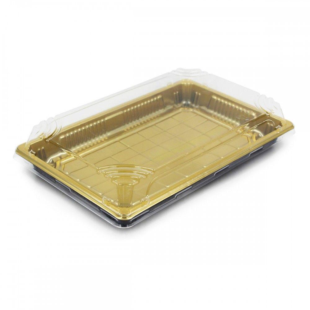 علب بلاستيك اللون ذهبي غطاء شفاف العدد 10 علبه الطول 24 سم العرض 15سم الارتفاع 5 سم متوفرة لدى موقع صفقات موقع Decorative Tray Home Decor Decor