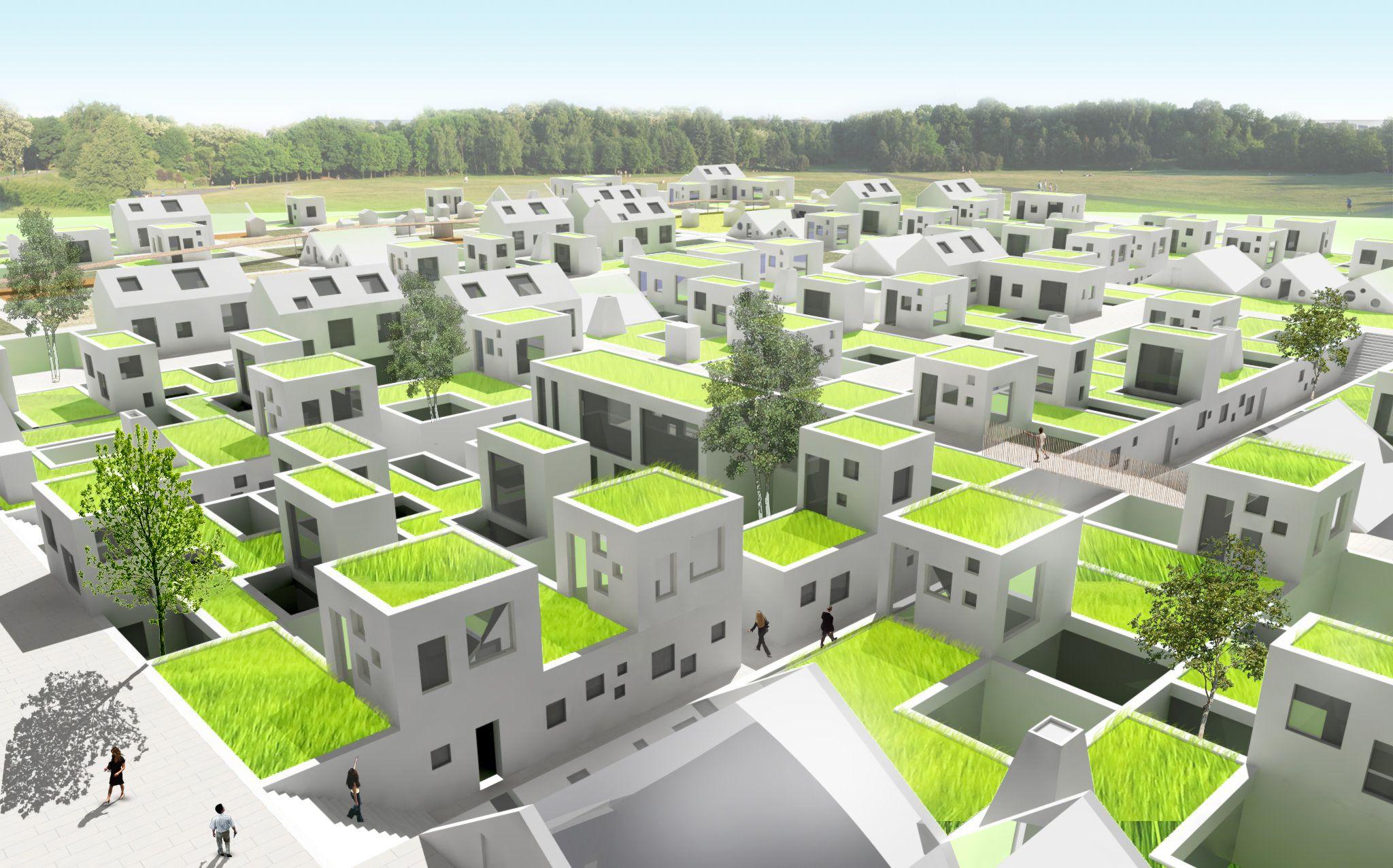 Znalezione obrazy dla zapytania urban village