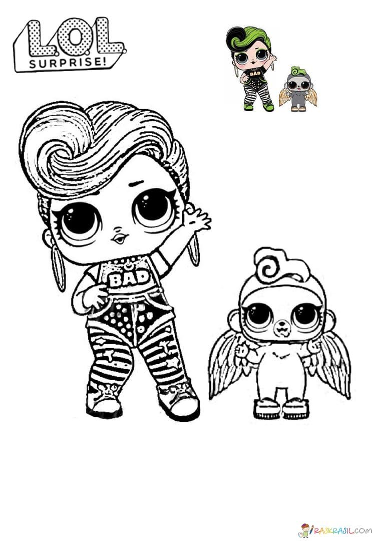 19+ Lol dolls coloring pages jpeg ideas in 2021