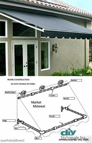 Diy Awnings Photo Diy Awning Outdoor Awnings Diy Shades