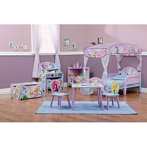 Disney Tinkerbell Room Toddler Bedroom Furniture Set Room Decor ...