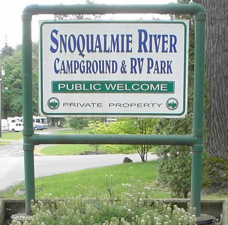 Snoqualmie River RV Park And Campground Fall City Washington