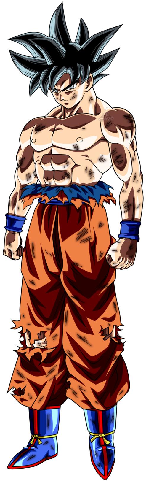 Goku Limit Breaker Anime Desenho De Ninja Desenhos Deadpool