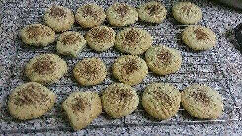 Imaan & ouma baking simple chocchip styled biscuits