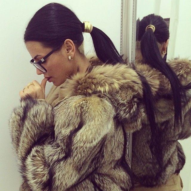 hooded fur