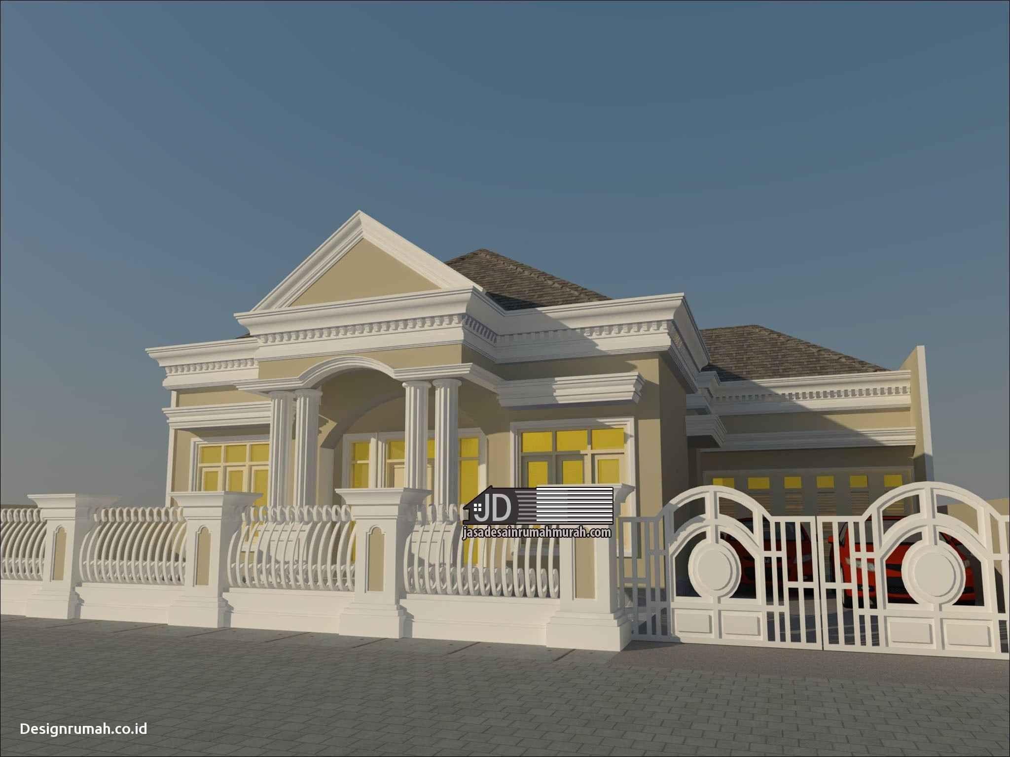 Contoh Desain Rumah Klasik Eropa Cek Bahan Bangunan