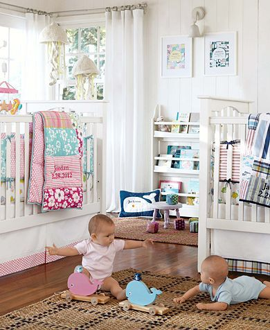 Love this twin nursery from Pottern Barn | Baby | Nursery ...