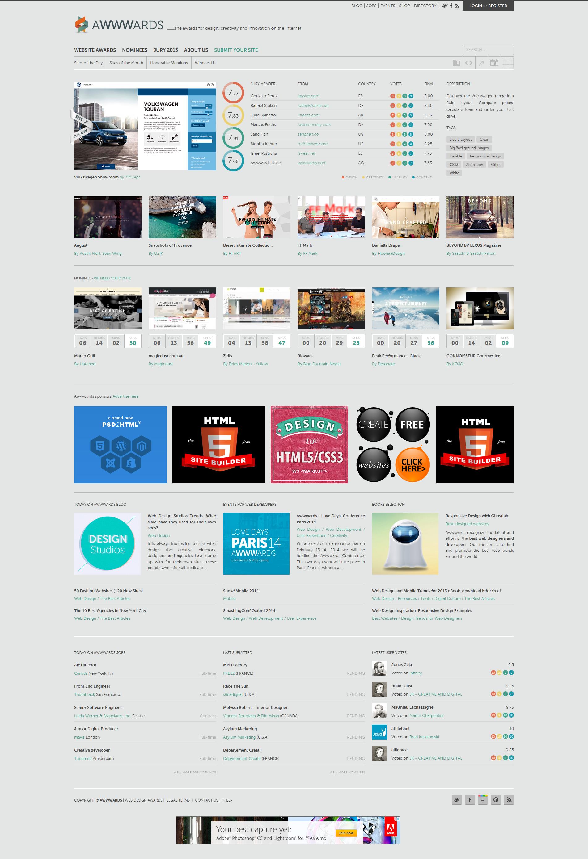 Awwwards Responsive Web Design Awwwards Com Web Design Responsive Web Design Responsive Design Examples