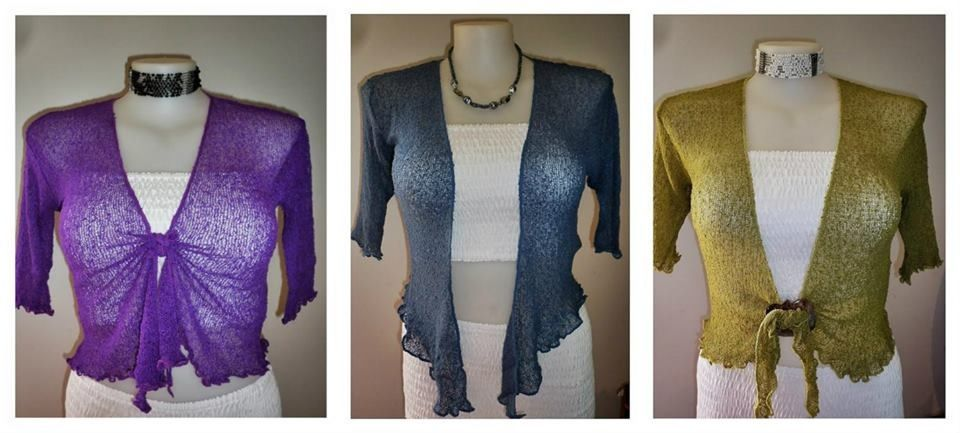 3/4 sleeve knitted cardi - $22. Perfect for QLD winter!