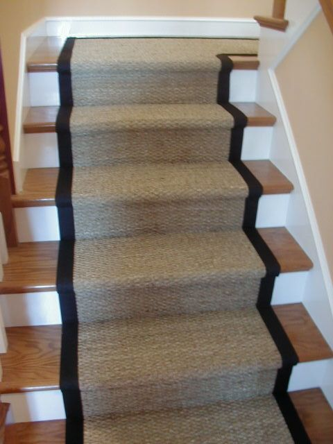 How To Make Narrow Stairs Look Wider Home Sisal Stair