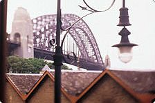View of Sydney Bridge from The Rocks.. we LOVE Australia, and Sydney in particular!