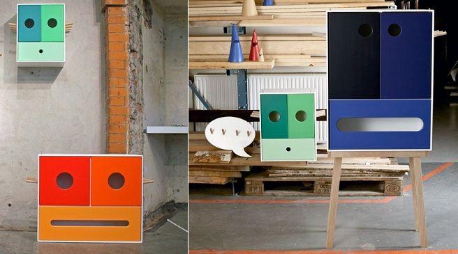 Hola Bandola, divertidos muebles infantiles para almacenar | Ideas ...