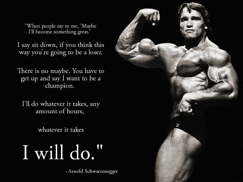 Arnold Schwarzenegger Motivational Quotes Health Quotes Fitness Quotes Bodybuilding Quotes Bodybuilding Motivation