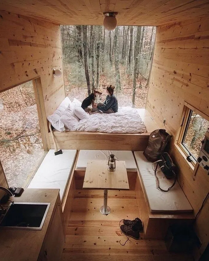 115 Amazing Tiny Houses You Can Rent On Airbnb 25 Easy Cookings Me Tiny House Decor Tiny House Design Tiny House Inspiration