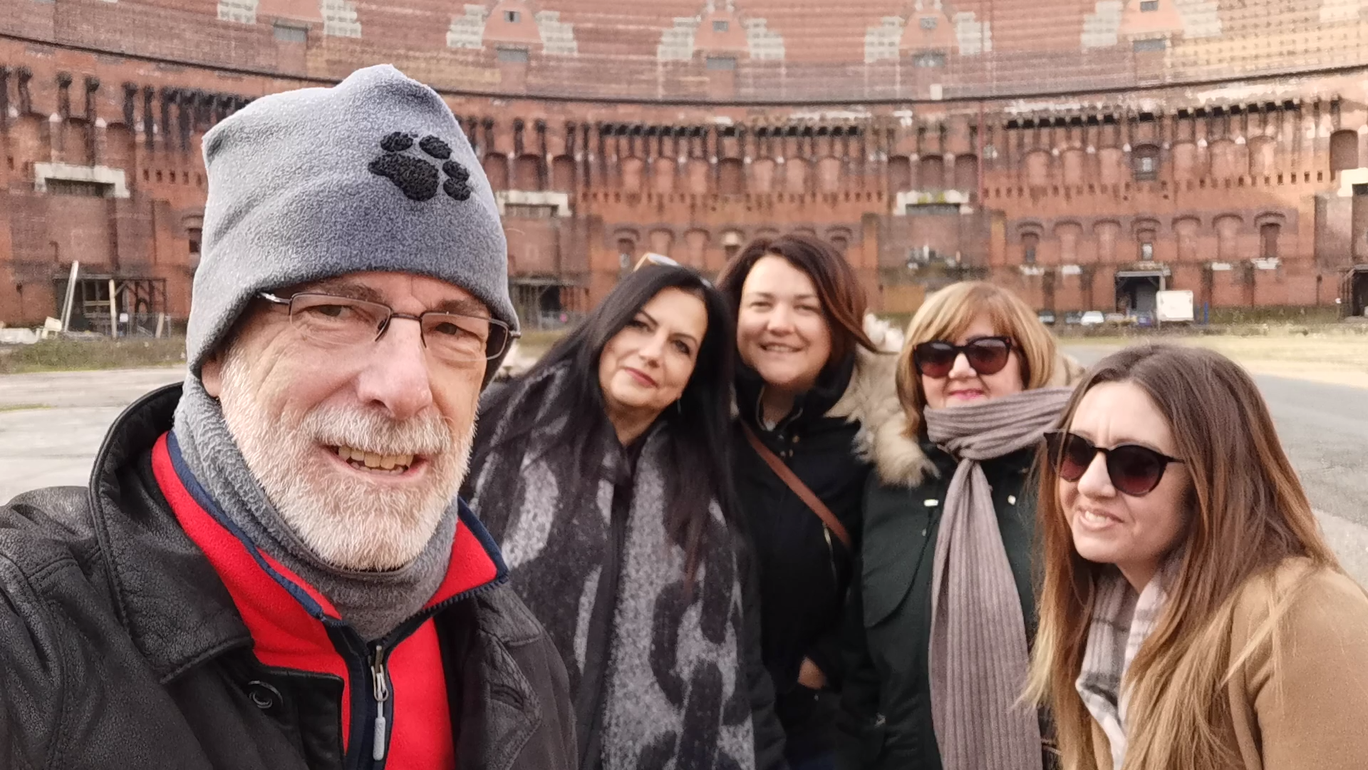 nuremberg.tours.in.english #Nuremberg Tours in English with #HappyTourCustomers in the Congress Hall for my first tour of 2020