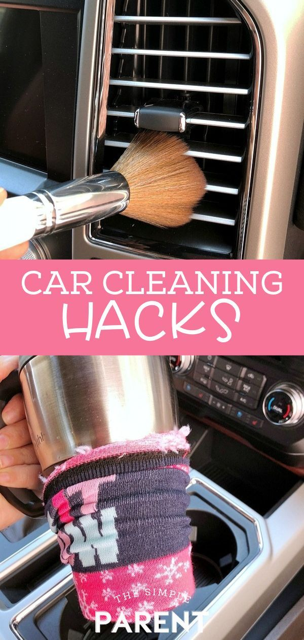9 Car Cleaning Hacks to Get It Clean & Keep it Clean! • The Simple Parent