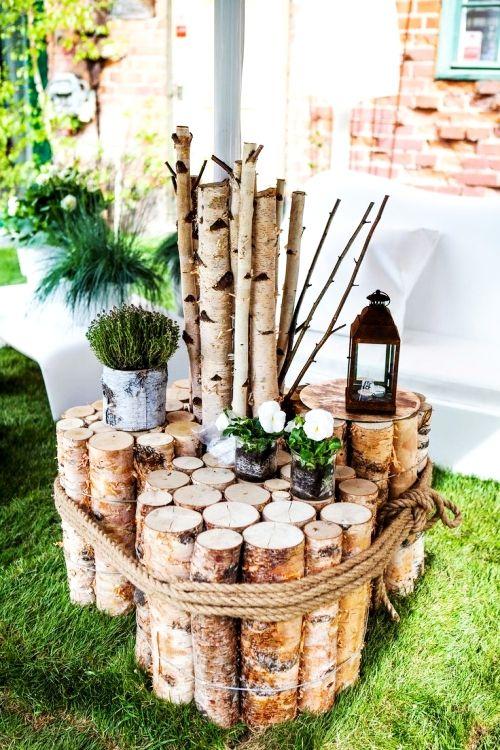 Photo of 50 ideas para la decoración escandinava de corteza de abedul y tronco de abedul – ideas vivas y decoración
