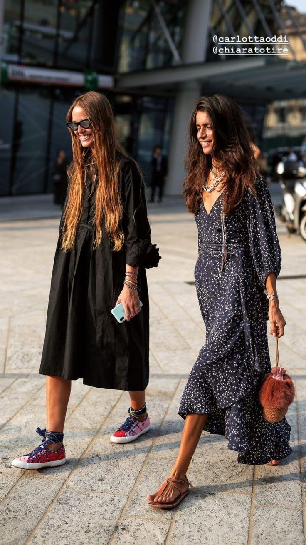 Mode und Streetstyle der Mailänder Modewoche  September 2018  Leben auf Ma