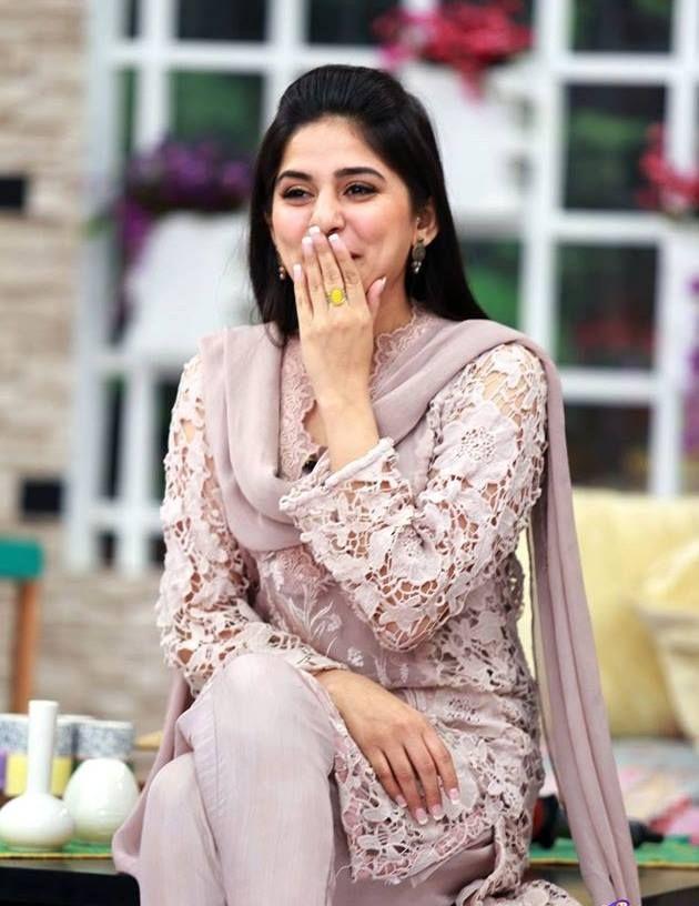 Sanam baloch dresses in style