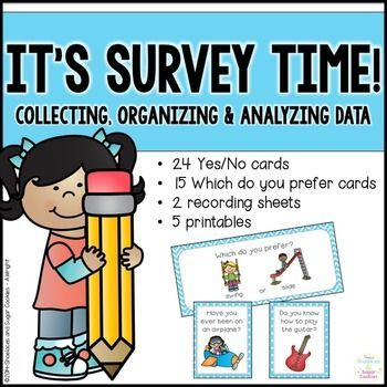 It\'s Survey Time! - Collecting, organizing and analyzing data ...