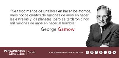 George Gamow. Sobre el ser más complejo de nuestro universo.