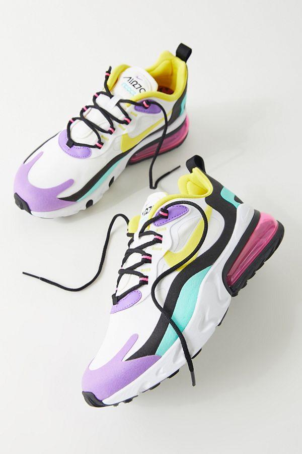 Nike Air Max 270 React Sneaker en 2020 | Zapatos tenis para ...