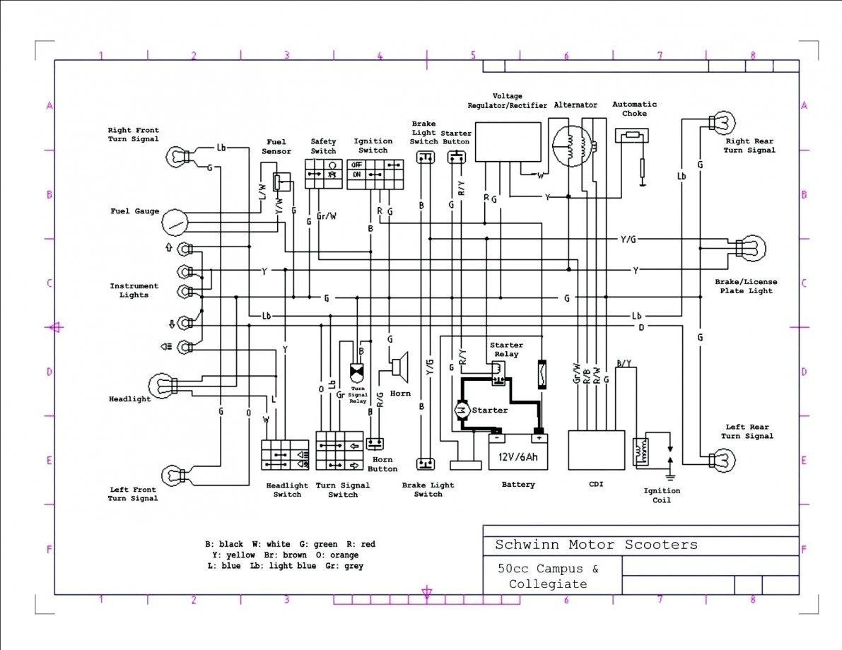 Pride Legend Scooter Wiring Diagram
